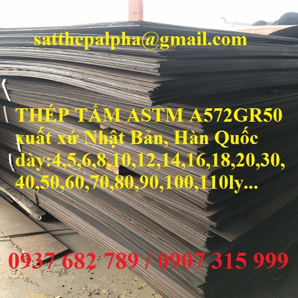THÉP TẤM ASTM A572